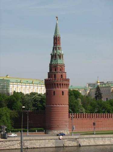 Московский Кремль Водовзводная (Свиблова) башня