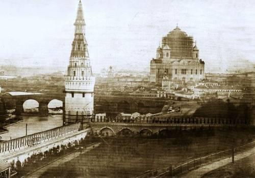 Москва 1856 фотопанорама из Кремля