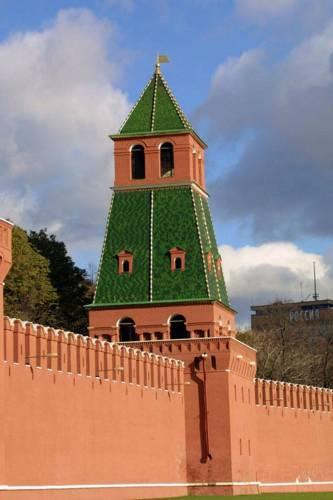 Московский Кремль 1-я Безымянная башня