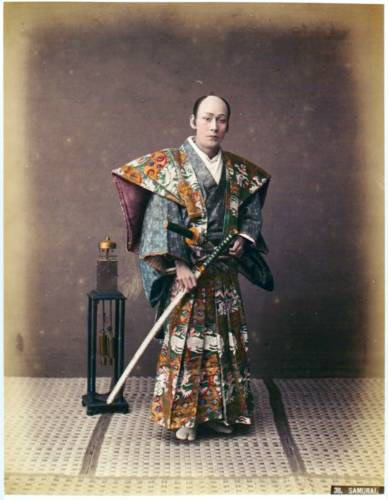 Япония 19 век фото самураи