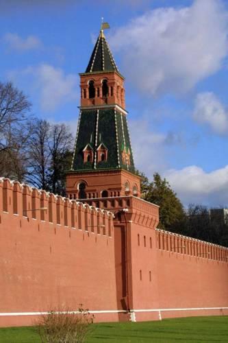 Московский Кремль 2-я Безымянная башня
