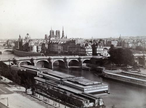Париж 1870 г. автор фото Achille Quinet