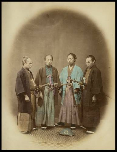 Япония 19 век самураи