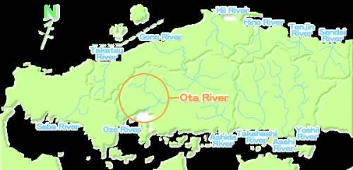 Хиросима река Ота