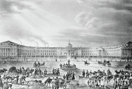 Москва рисунок Кадоля
