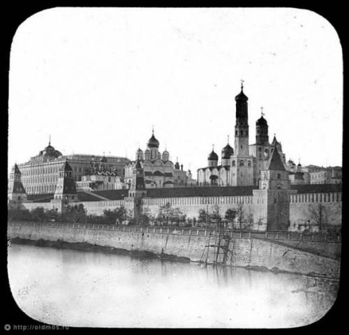Москва 1857 Кремль фото из Замоскворечья